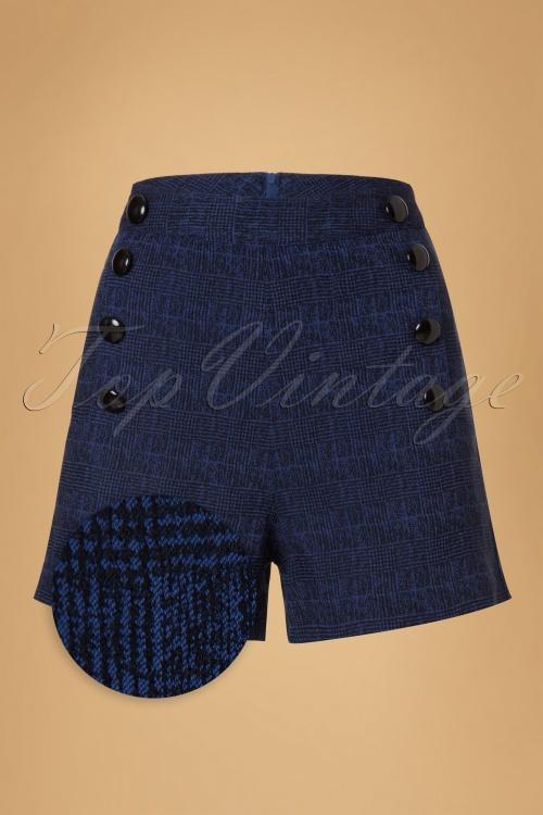 Vixen Jaquie Blue Shorts 19458 20160914 0003WV