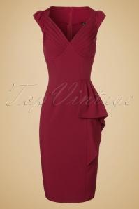 Vixen Red Pencil Dress 102 20 19648 20160913 0006W