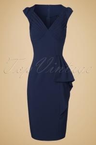 Vixen Blue Pencil Dress 102 20 19632 20160913 0006W