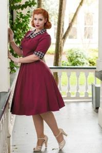 Miss Candyfloss Designed by Miss Victory Violet Purple Ella Dress 102 20 19344 model04