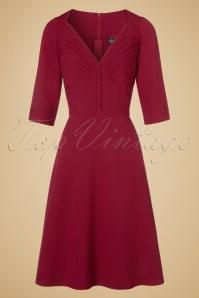 Vixen Red A line Dress 102 20 19647 20160914 0024W
