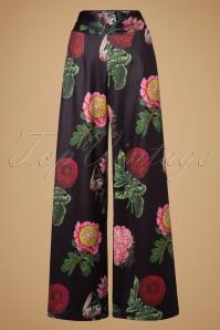 Vixen Natalia Black Floral Pants 131 14 19464 20160914 0005W