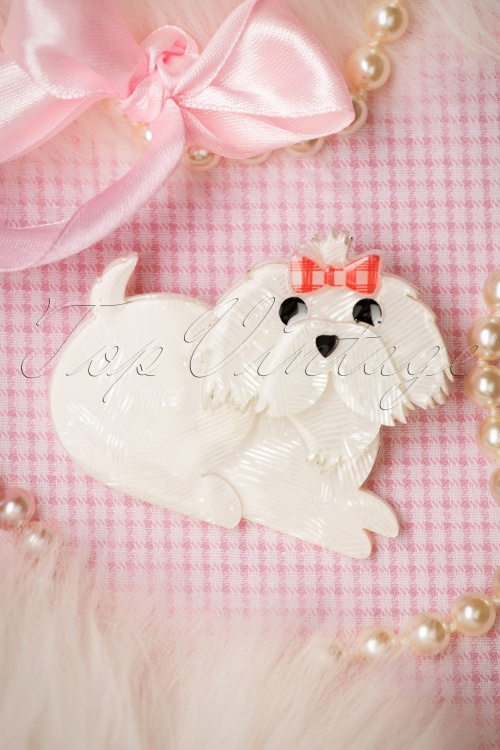 Erswilder Molly the Maltese Brooche 340 50 19798 09192016 011W