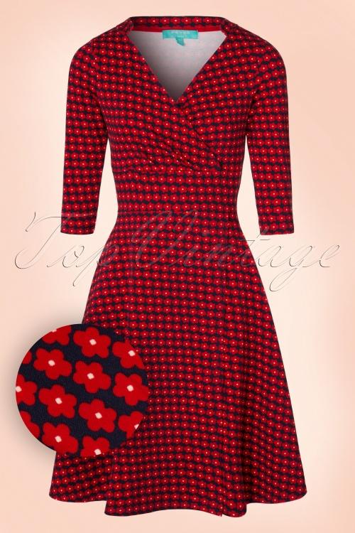 Fever Gracie Wrap Floral Dress 102 39 19200 20160920 0003WV