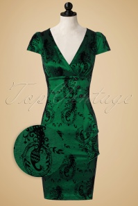 Vixen Candy Ann Green Peacock Dress 100 39 14091 20160914 0004pop
