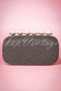 La Parisienne Black Diamand and Pearls Bag 210 14 19912 20160920 0005W