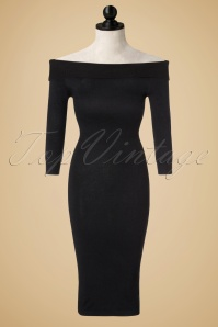 Collectif Clothing Tessa Knitted Dress 100 10 18875 20160921 0003pop