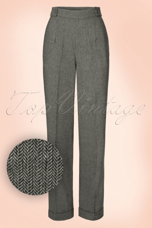 Dancing Days by Banned Lady Luck Grey Trousers 131 70 19717 20160922 0008W1
