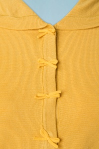 Dancing Days by Banned April Short Sleeves Cardigan in Off Yellow 140 80 19770 20160922 0011a