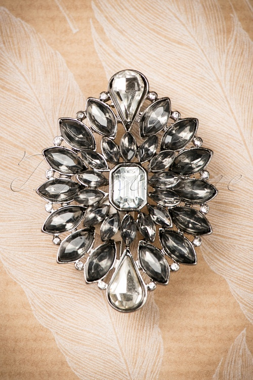 Darling Divine Black Diamand Brooch 340 10 19863 09262016 002W