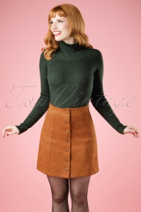 Bright and Beatiful India Skirt in Rust 19927 20160531 1W