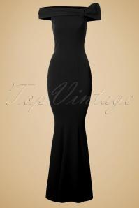 Vintage Chic Black Maxi Off Shoulder Dress 108 20 19653 20160927 0004 1