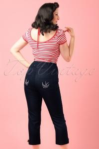 Steady Clothing High Waist Denim Pants modelfoto cropw