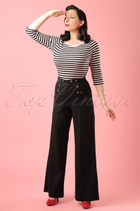 Dancing Days by Banned Blue Julia Trousers modelfotoW