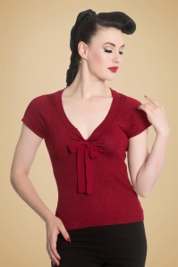 Bunny Angette Red Bow Glitter Top 113 20 19568 20160927 1