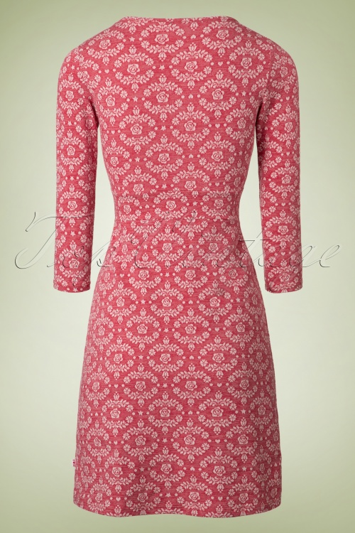 60s So Long Solitude Dress In Blossom Pink