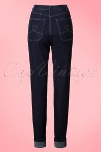 Collectif Clothing Monroe Plain Jeans  131 31 20079 20160928 0012W