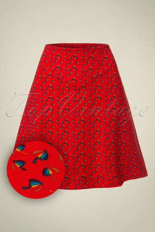 Wow to go! Rainbow Umbrella Red Skirt 122 27 18537 20160929 0002W1
