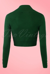 Collectif Clothing Jean Bolero in Green 141 40 18888 20160601 0002w