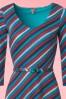 Wow to go! 60s Blue Red A line Dress 106 39 18535 20160929 0003V1