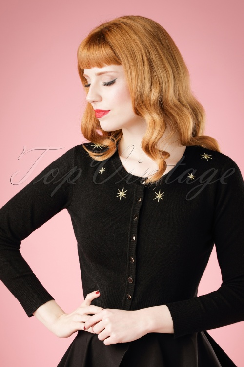 Collectif Clothing Jessie Atomic Star Cardigan 18852 20160601 model02W1