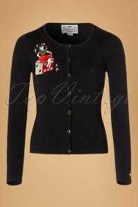 Collectif Clothing Jo Vegas Vamp Cardigan  19038 20160602 0005W