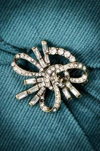 30s Glamorous Art Deco Brooch