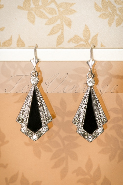 Lovely Art Deco Earrings 335 10 11316 10032016 021W