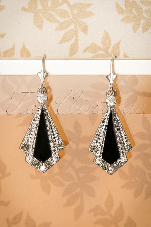 Lovely Art Deco Earrings 335 10 11316 10032016 021W
