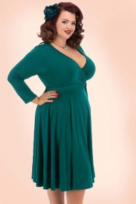Lady V Lyra Dress in Teal 102 40 20116 12jpg