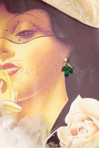 Lola Gold Green Leaves Earrings 334 40 16008 06122015 09cW