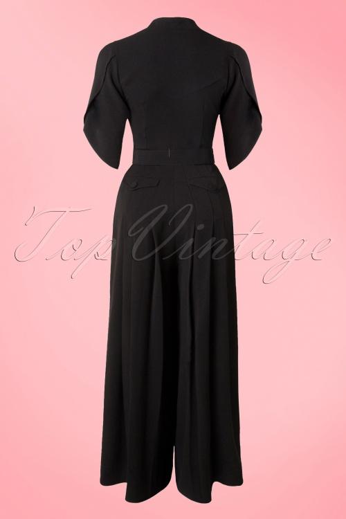billig zu verkaufen Neueste Mode neue Produkte für 40s Gigi Jumpsuit in Black