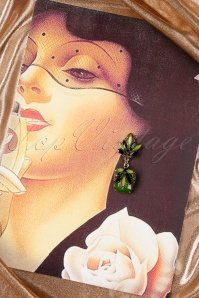 Lola Green Flower Earrings 333 40 19986 10042016 015W