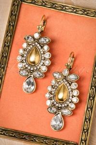 Allison Diamond Earrings Années30