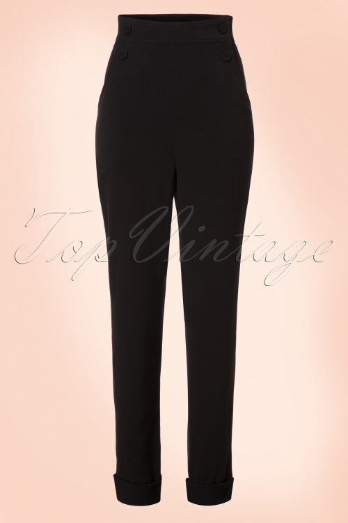 Miss Candyfloss Black Trousers 131 10 19345 20161004 0003w