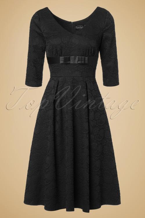 Vixen Jane Black Lace Swing Dress 102 20 19443 20161004 0010W
