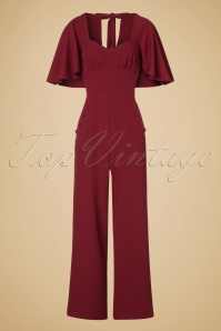 Vixen Zoey Jumpsuit in Red 133 20 19474 20161005 0005w