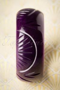Splendette Large Purple Fakelite Bangle 310 60 19924 10052016 006W