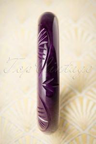 Splendette Midi Purple Fakelite Bangle 310 60 19925 10052016 005W