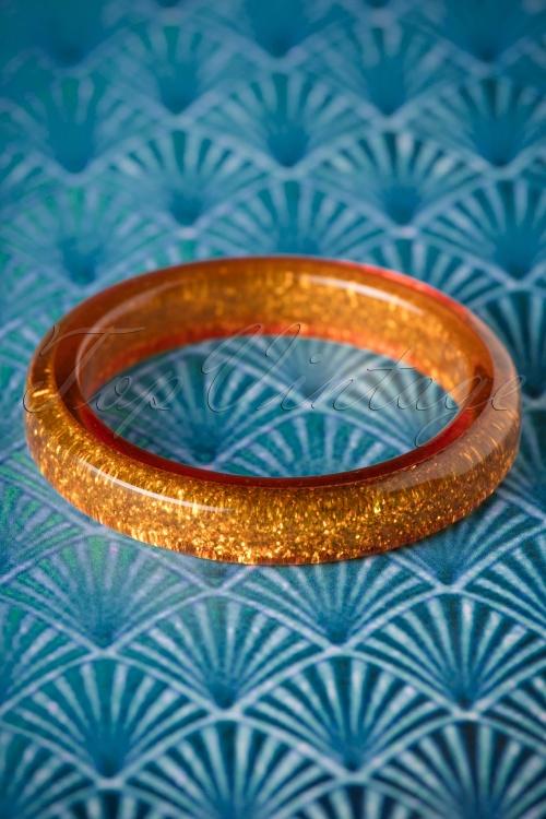 Splendette Old Gold Glitter Bangle 310 91 20132 10062016 001W