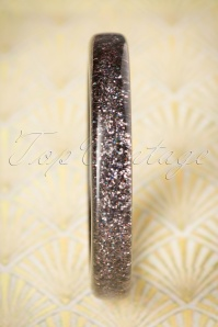 Splendette Gunmetal Glitter Bangle 310 15 20134 10062016 004W