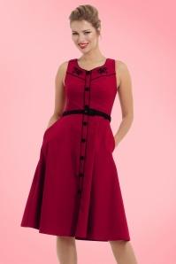 Vixen Marjorie Red Swing Dress 102 20 19442 20161004 1