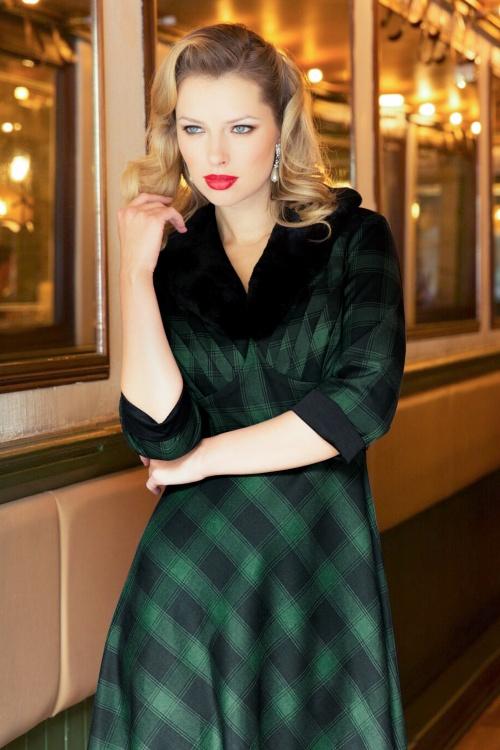 e2703634 Vixen Lola Green Checkered Dress 102 49 19453 20161004 0028
