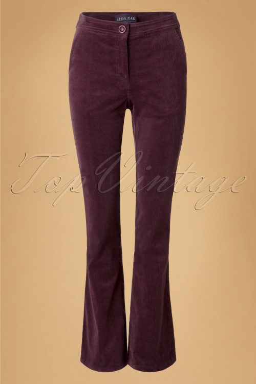 Aida Zak Holiday Corduroy Trousers  18673 20160531 0009w