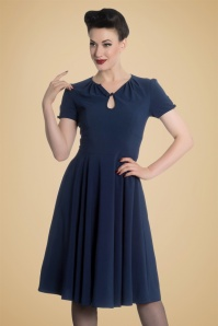 Bunny Riley Dress in Navy Blue 102 31 19555 20161007 1