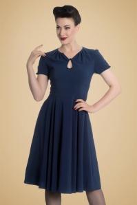Bunny Riley Dress in Navy Blue 102 31 19555 20161007 1