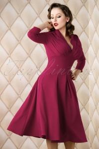 Miss Candyfloss Purple Dress 102 20 16933 0006w