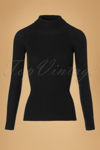 Collectif Clothing Olive Knitted Turtleneck top 113 40 18900 20161010 0001