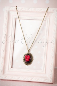 Sweet Cherry Sweet Black Ribbon Necklace 310 10 20082 10102016 006W