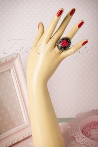 Sweet Cherry Sweet Black Ribbon Ring 310 10 20083 10102016 014W